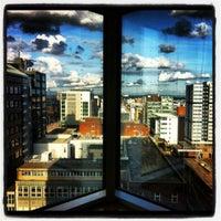Photo taken at Hilton Glasgow by Alex W. on 6/19/2012