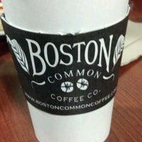 Boston Common Coffee Company Menu