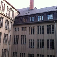 Photo taken at PLUS Berlin Hostel and Hotel by Derek N. on 9/3/2012