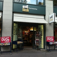 Photo taken at Orell Füssli - The Bookshop by Denisse I. on 9/2/2011