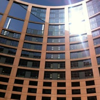Photo taken at European Parliament by HY G. on 5/20/2012
