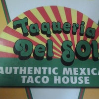 Photo taken at Taqueria del Sol by Cefeney G. on 4/20/2012
