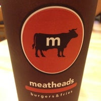Photo taken at Meatheads Burgers & Fries by Christopher B. on 6/1/2012