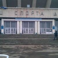 Das Foto wurde bei Дворец спорта «Динамо» von Александр О. am 3/18/2012 aufgenommen