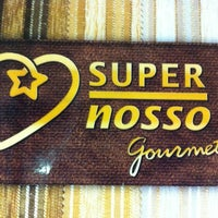 Photo taken at Super Nosso Gourmet by Raphael M. on 3/22/2012