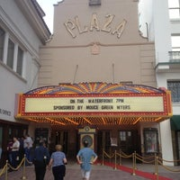 Photo taken at Plaza Theatre by Joel G. on 8/4/2012
