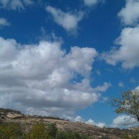 Photo taken at Enchanted Rock State Natural Area by Brian C. on 10/7/2011
