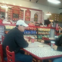 Photo taken at Firehouse Subs by Alex G. on 10/27/2011