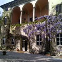 Photo taken at Villa La Principessa Hotel Lucca by Carlos L. on 4/5/2012