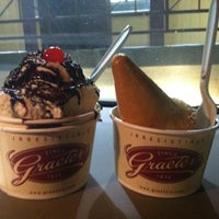 Photo taken at Graeter's Ice Cream by Ashley D. on 3/12/2012