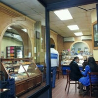 Photo taken at La Tropezienne Bakery by Melissa S. on 11/20/2011