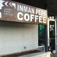 Photo taken at Inman Perk Coffee by Patrick Q. on 3/27/2012