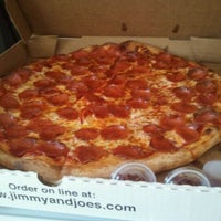 Photo taken at Jimmy & Joe's Pizzeria by Tom S. on 4/20/2011