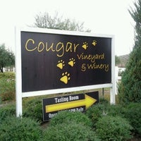 Photo taken at Cougar Vineyard & Winery by Vicky S. on 1/16/2012