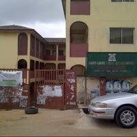 Photo taken at Ifako-Ijaiye Local Government Secretariat by Olugbenga O. on 8/4/2012