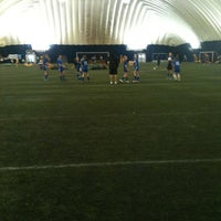 Photo taken at Sports Dome by Alex Y. on 2/29/2012