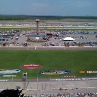 Photo taken at Nashville Superspeedway by Michael O. on 4/23/2011
