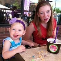 Photo taken at Lulu's Frozen Yogurt by Althealorrainne O. on 6/9/2012