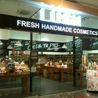 Photo taken at LUSH Fresh Handmade Cosmetics by Maria R. on 1/2/2012