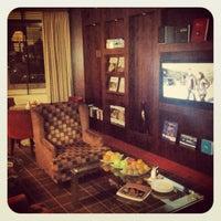 Photo taken at Sheraton Poznan Hotel by Mikolai N. on 7/18/2012