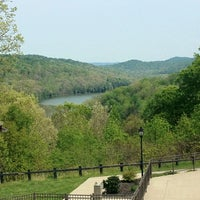 Photo taken at Shawnee State Park Lodge by Jeremy L. on 4/29/2012