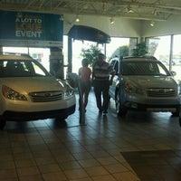 Photo taken at Suburban Subaru by Tim J. on 8/7/2012