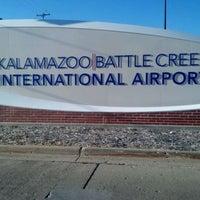 Photo taken at Kalamazoo - Battle Creek International Airport (AZO) by Erik P. on 9/15/2011