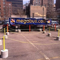 Photo taken at MegaBus NYC Stop by Cage Cafe G. on 4/9/2011