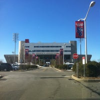Photo taken at Kenneth P. LaValle Stadium by Vicente O. on 2/15/2011