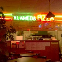 Photo taken at Alameda Pizza by kumi m. on 1/9/2012