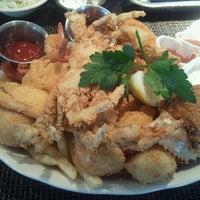 Photo taken at Pappas Seafood House by Erik W. on 6/27/2011