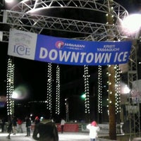 Photo taken at Downtown Ice by Romero on 12/23/2011