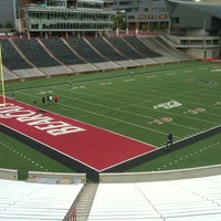 Photo taken at Nippert Stadium by Dale W. on 9/11/2011