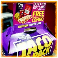 Photo taken at Taco Bell by Jimmie B. on 12/10/2011
