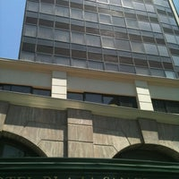 Photo taken at Hotel Mercure Santiago Centro by Maximiliano C. on 1/16/2012