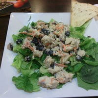Photo taken at Crispers Fresh Salads, Soups and Sandwiches by Becky N Jason V. on 8/17/2012