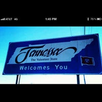 Photo taken at Kentucky / Tennessee State Line by Nicole S. on 4/21/2012