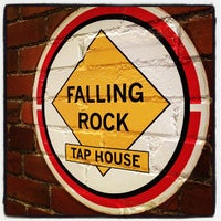 Photo taken at Falling Rock Tap House by Sean B. on 2/5/2012