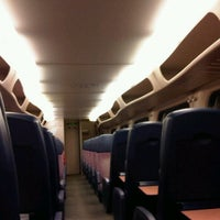 Photo taken at Intercity Rotterdam Centraal - Leeuwarden by Natascha on 12/30/2011