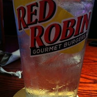 Photo taken at Red Robin Gourmet Burgers by Stephanie W. on 7/7/2012