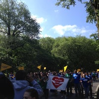 Photo taken at YAI Central Park Challenge by Colleen S. on 6/2/2012