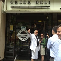 Photo taken at Greek Deli & Catering by shaun q. on 5/2/2012