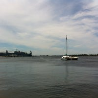 Photo taken at Canton Waterfront Park by Elizabeth J. on 6/13/2012