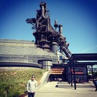 Photo taken at Parque Fundidora by Aldreen R. on 3/4/2012
