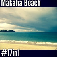 Photo taken at Makaha Beach Park by Neenz F. on 9/2/2012