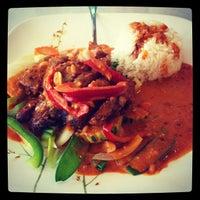 Photo taken at Lemon Grass Thai Kitchen by Erica G. on 2/29/2012