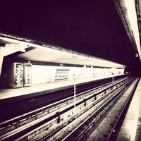 Photo taken at Metrostation Delfshaven by Christine F. on 3/11/2012