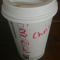 Photo taken at Starbucks by Chris W. on 3/17/2012
