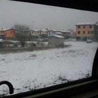 Photo taken at Stazione di Mantova by Simon L. on 2/7/2012