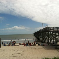 Photo taken at Oak Island Pier by Caitrin Mary D. on 5/26/2012